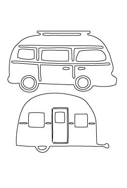 Flora & Fauna Bus and Camper Die