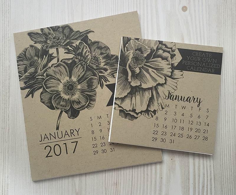 Impress Large 2017 Calendar Refill
