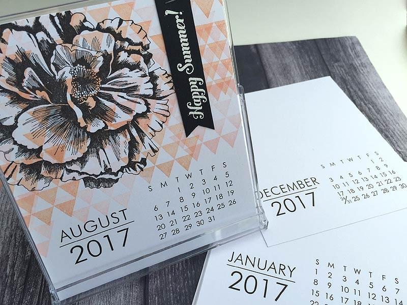 Large Impress 2017 Calendar
