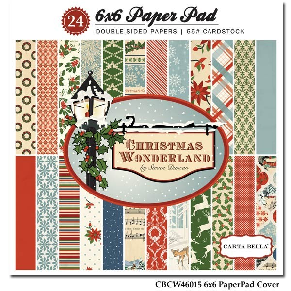 Carta Bella Christmas Wonderland 6x6 Paper Pack