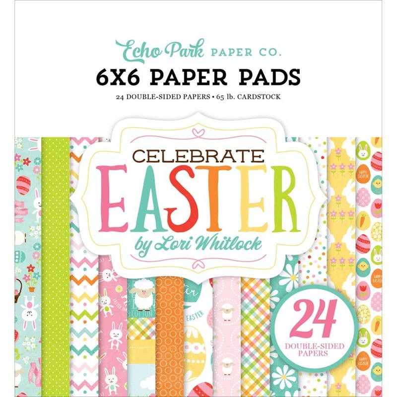 Echo Park Celebrate Easter 6x6 Paper Pack