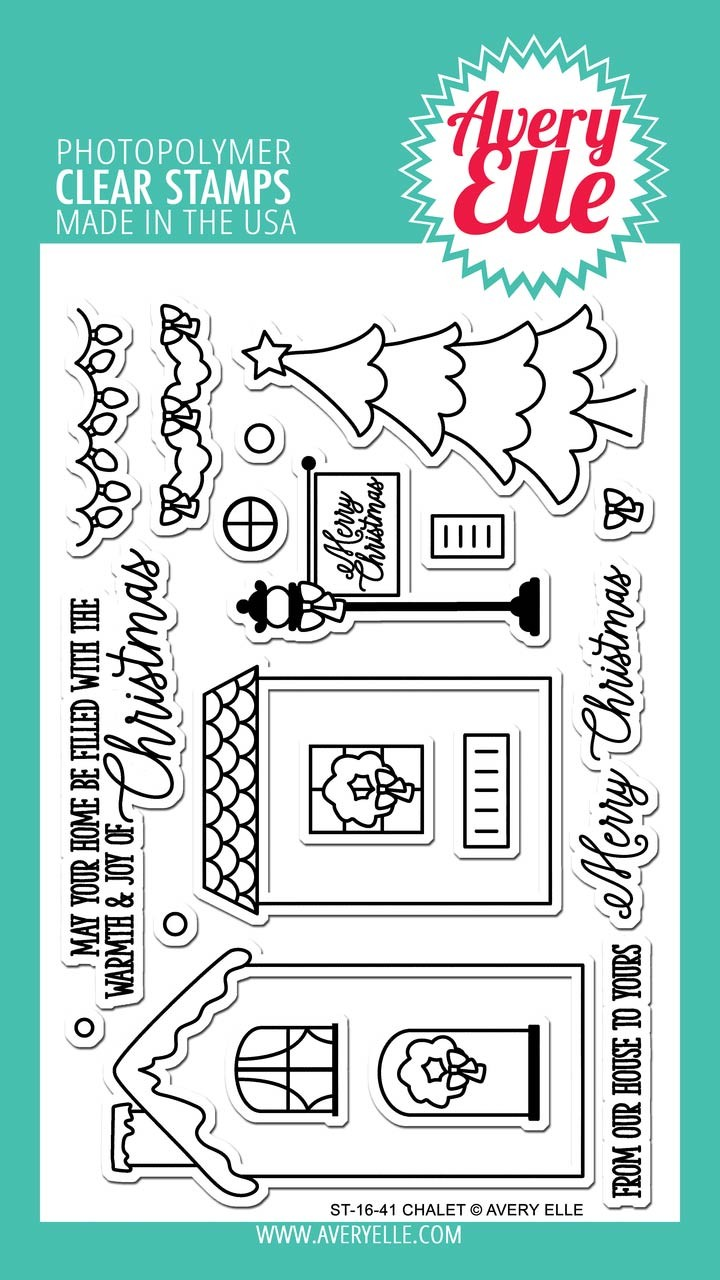 Avery Elle Chalet Clear Stamps