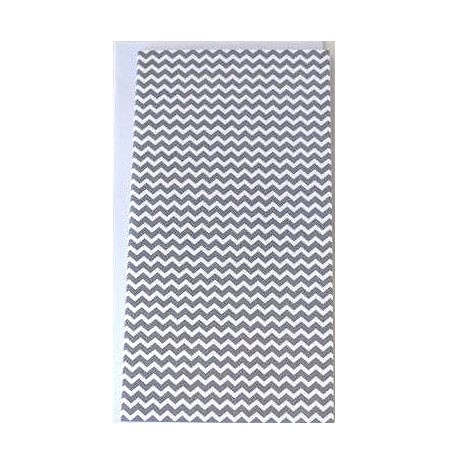 Grey Chevron Slim Cards