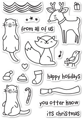 Christmas Friends Clear Stamp Set CL435