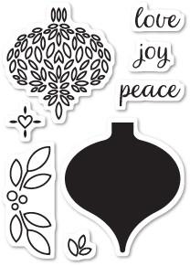 Delightful Ornament Clear Stamp Set CL5184