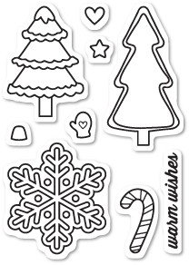Christmas Cookies Clear Stamp Set CL5185