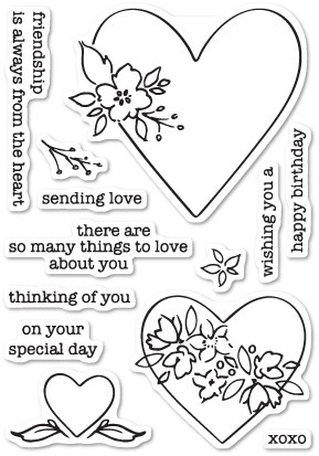 So Many Things to Love clear stamp set (CL5196)