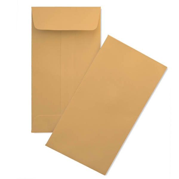 Kraft Slim Envelopes
