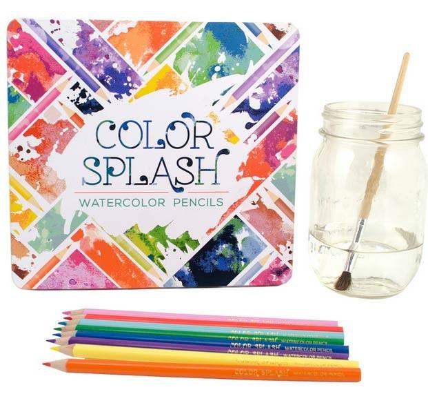 Color Splash Watercolor Pencils