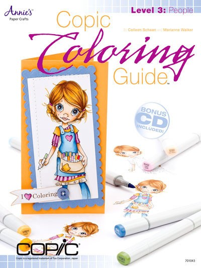 Copic Coloring Guide, People