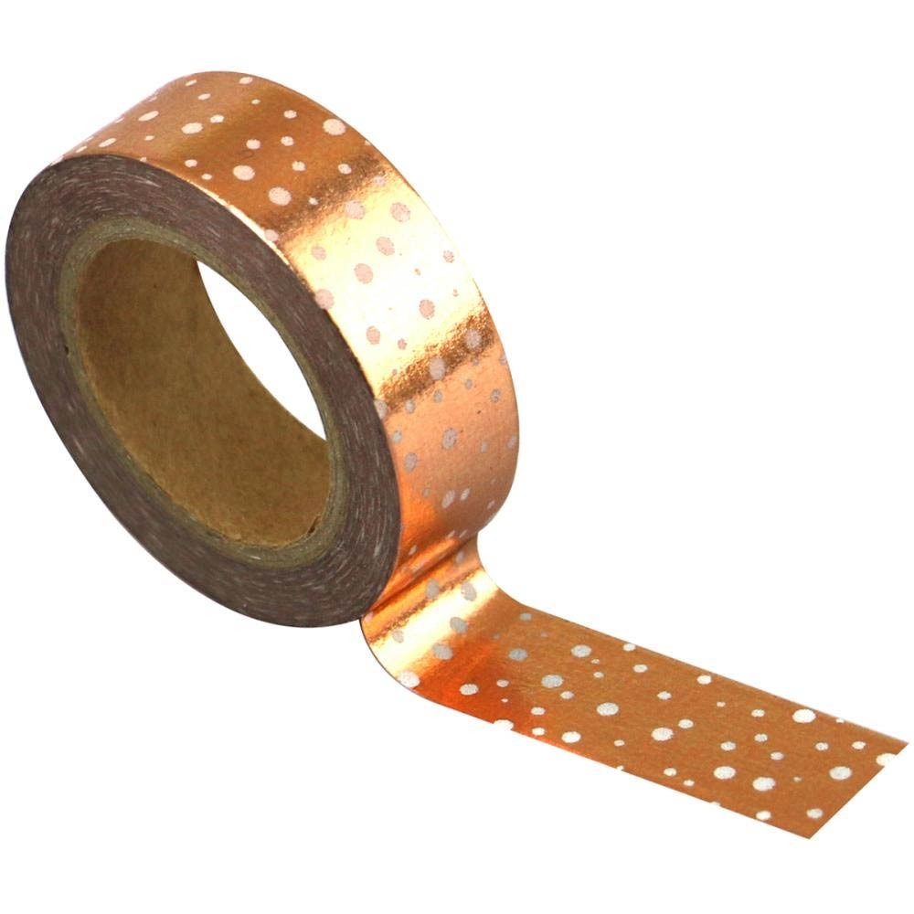 Copper Dots Washi Tape