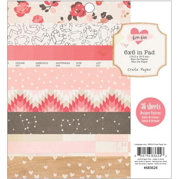 Kiss Kiss 6x6 paper pack