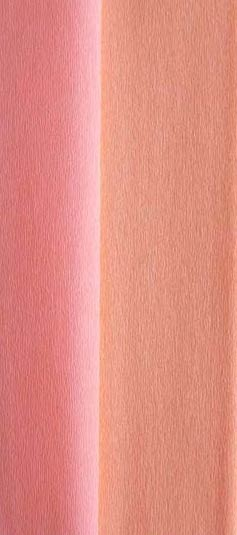 doublette crepe paper - salmon and peach