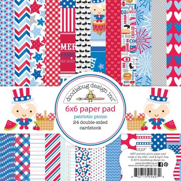 Patriotic 6x6 Paper Pack