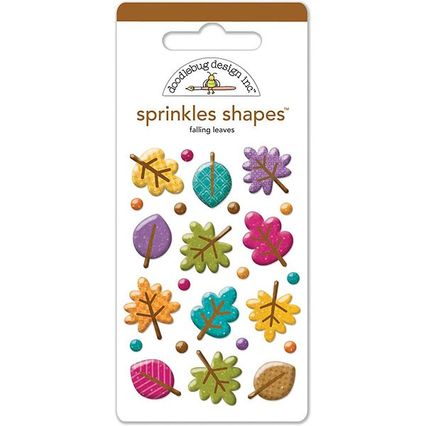 Sprinkle Shapes Falling Leaves