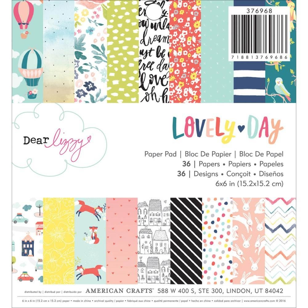 Dear Lizzy Lovely Day Paper Pack