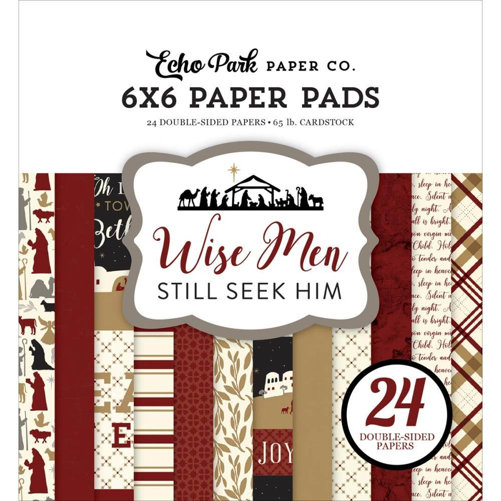 Echo Park Wise Men Still Seek Him 6x6