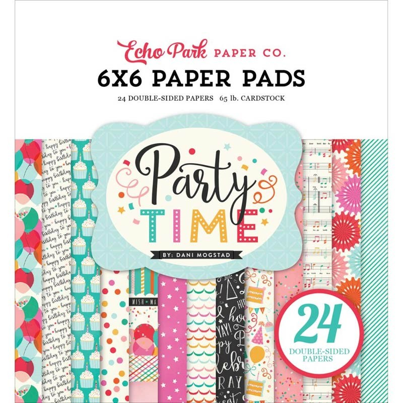 Party Time 6x6 Paper Pack