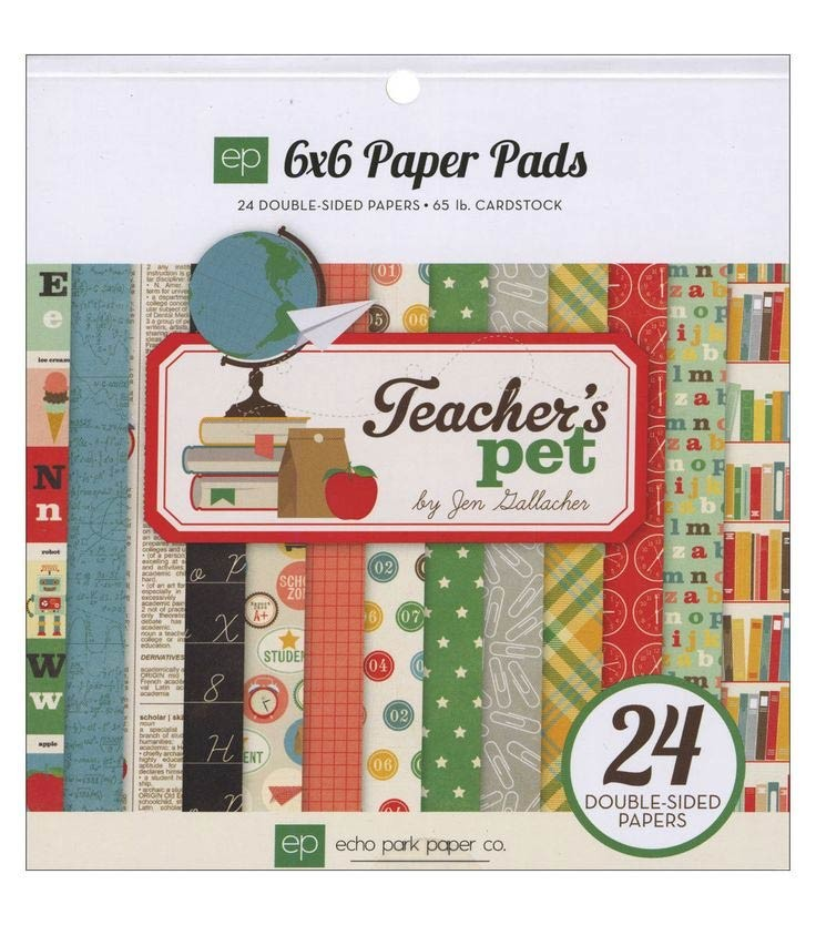 Teacher's Pet 6x6 Paper Pad