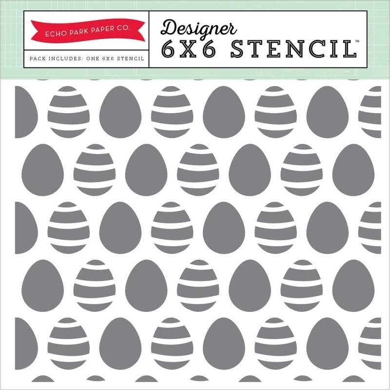 Echo Park Egg Stencil