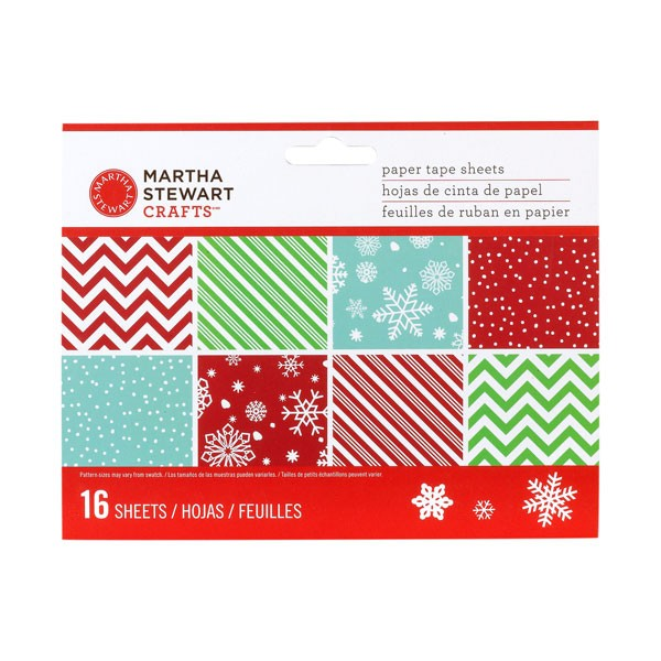 Martha Stewart Paper Tape Sheets