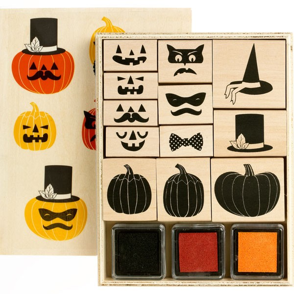 Halloween Stamp and Ink Set