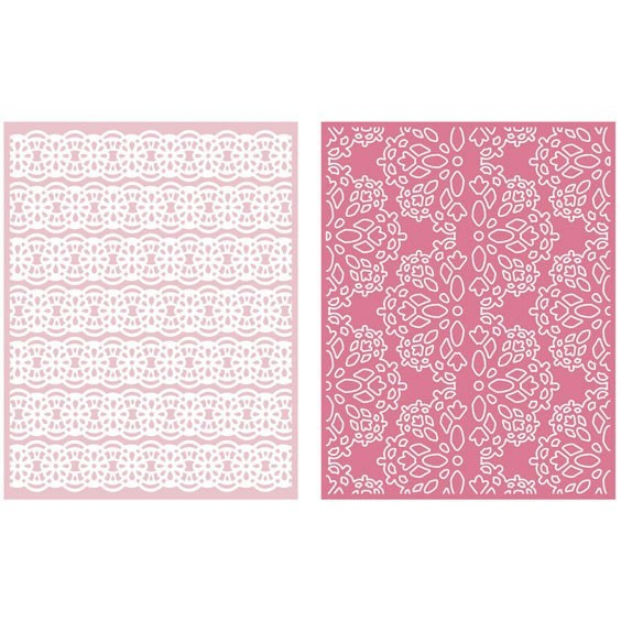 Lace Embossing Folder