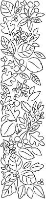 Blooming Leaf Border (F2046)