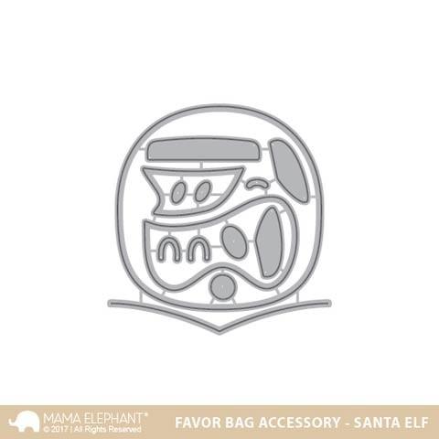 Favor Bag Accessory - Santa Elf
