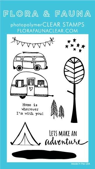 Flora & Fauna Adventure Clear Stamp Set