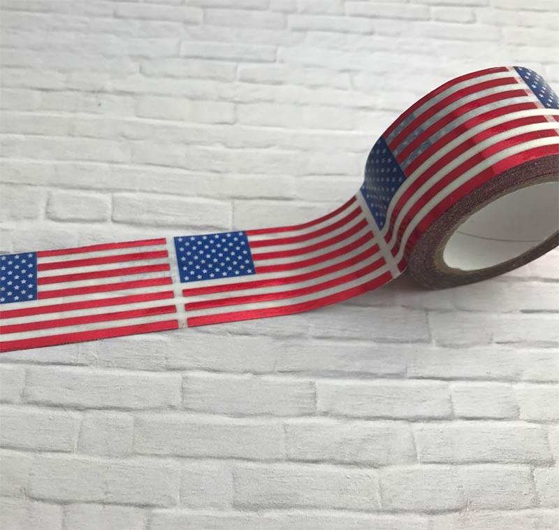 Flag Washi Tape
