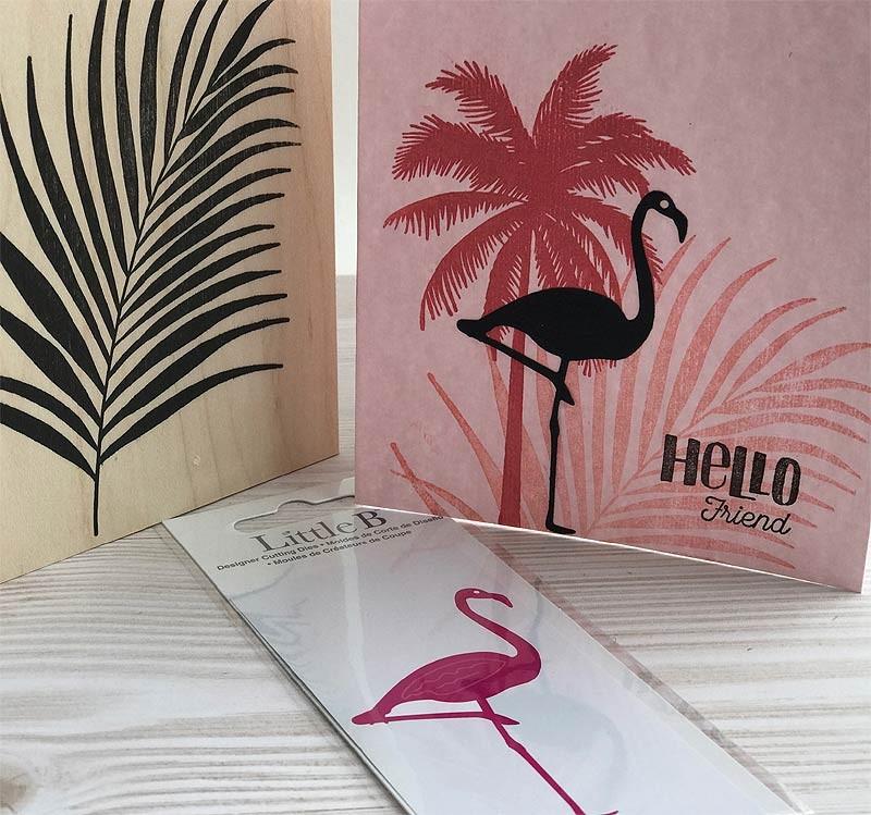 Little B Flamingo Die