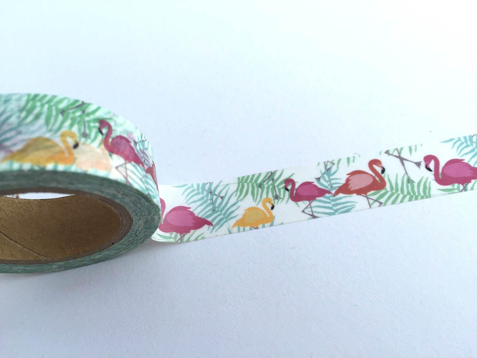 Flamingo Washi Tape