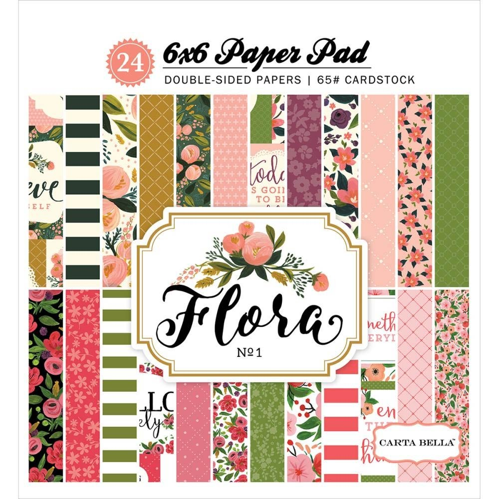 Carta Bella Flora Paper Pack