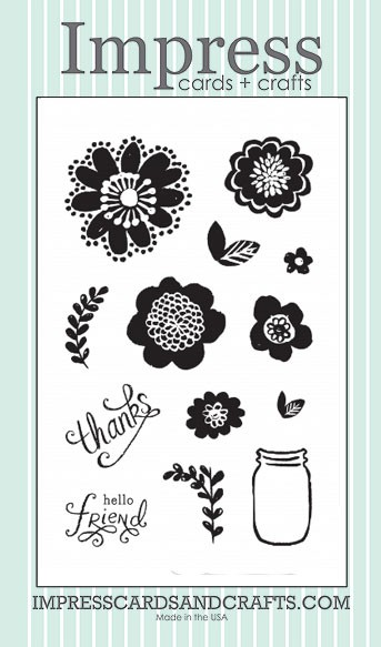 Impress Flower Power Stamp Set
