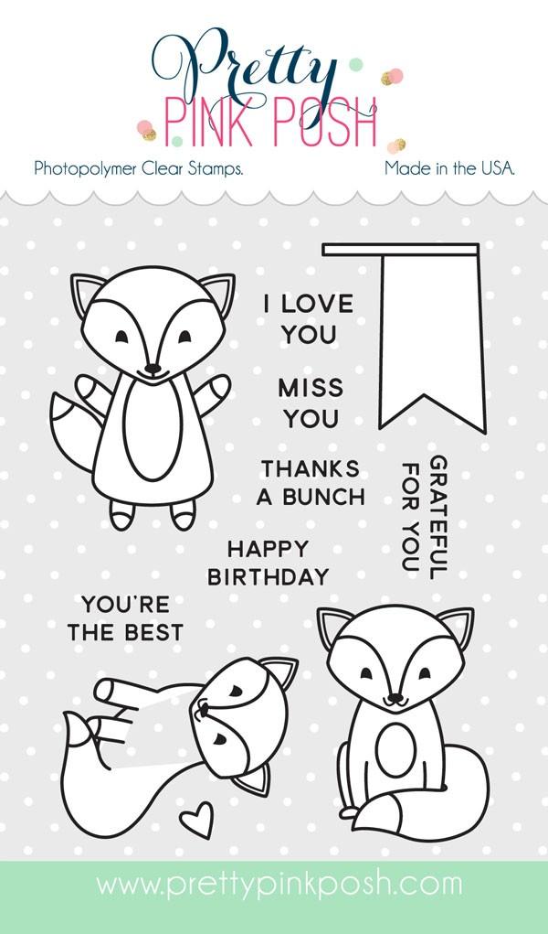 Fox Friends Stamp Set