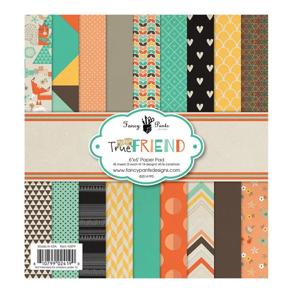 True Friend 6x6 paper pack