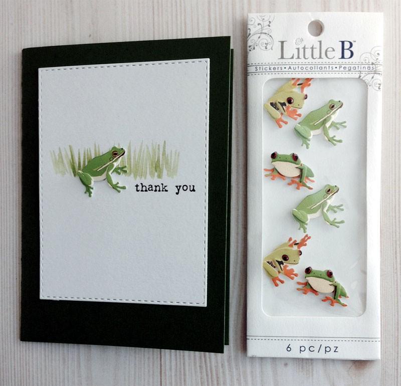 Little B Frog Stickers