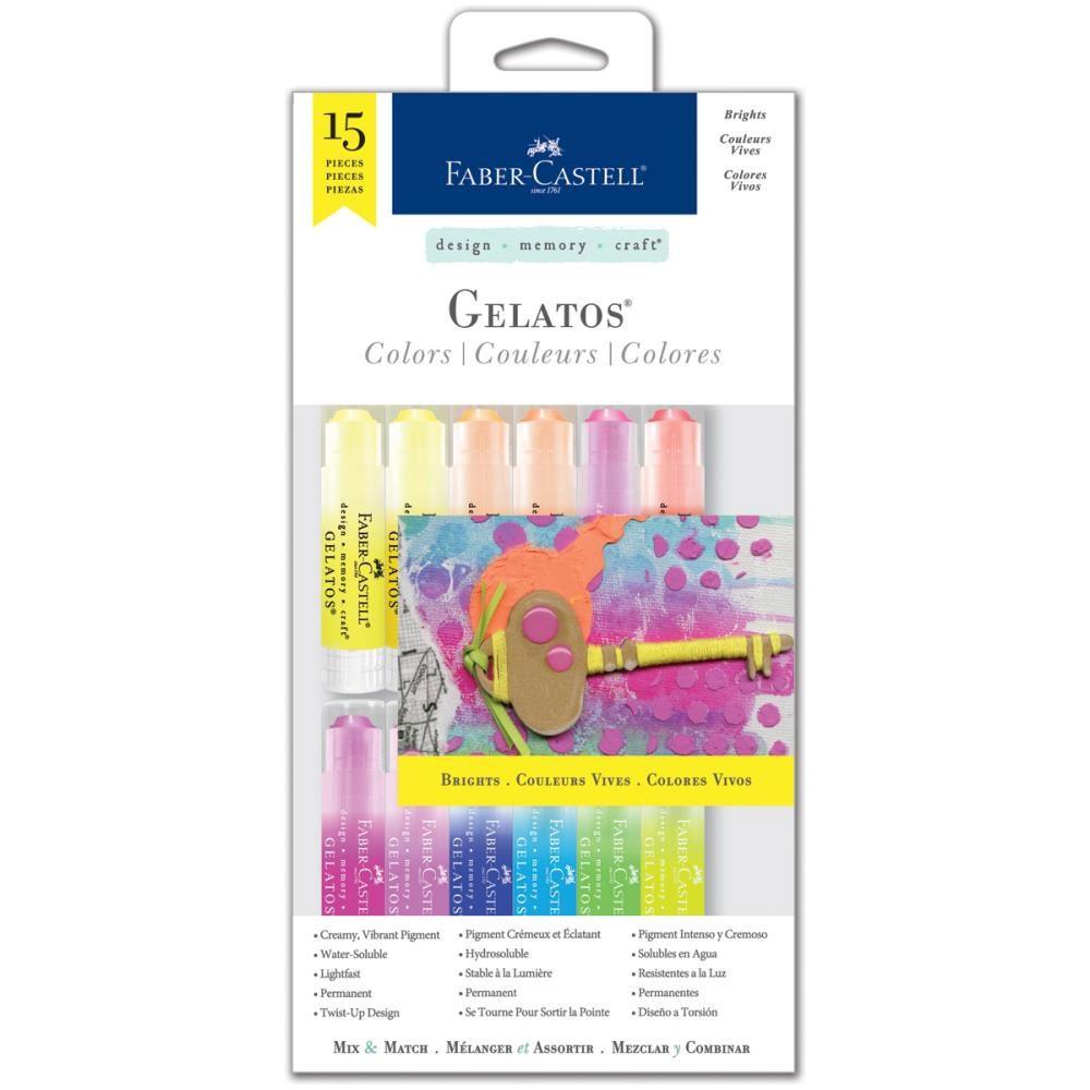 Gelatos color Kit - brights