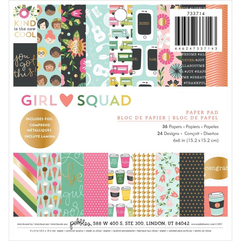 Pebbles Girl Squad Paper Pack