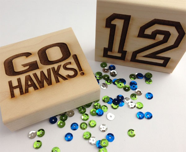 Seahawk Rubber stamps