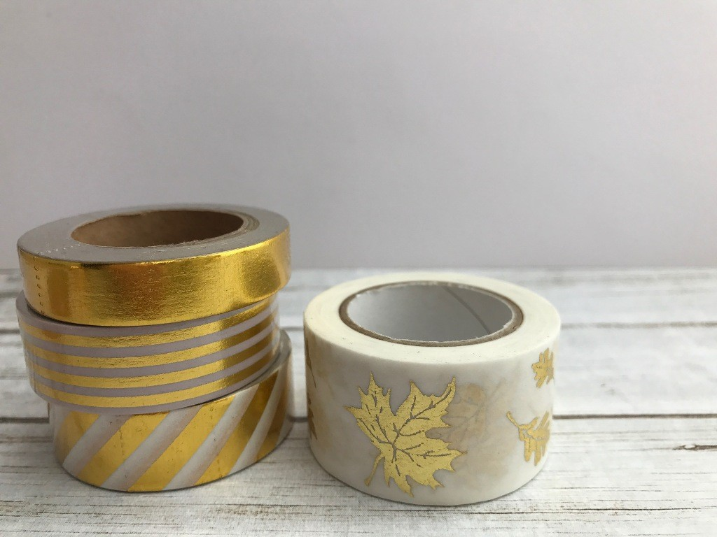 Gold Foil Washi Tapes