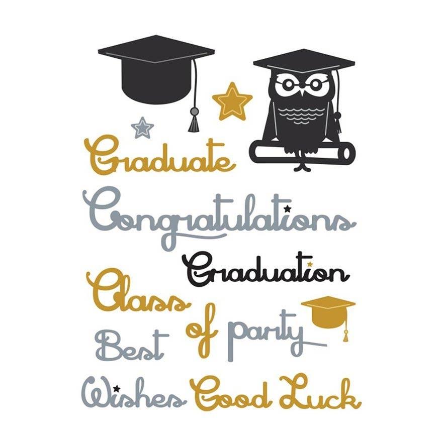 Little B Graduation Words Die