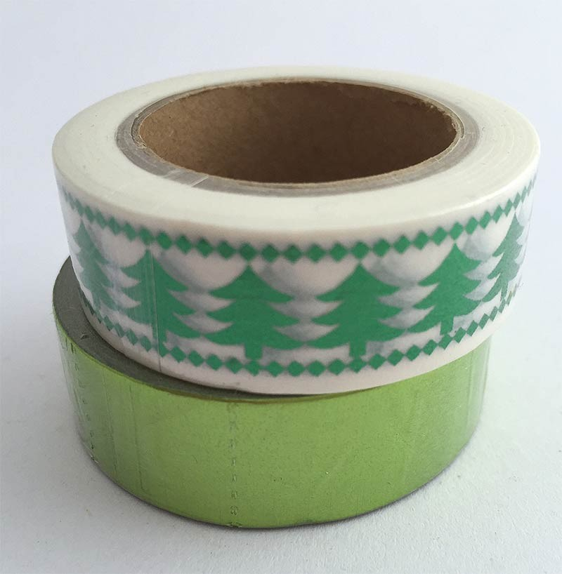 Green Foil Washi Tape