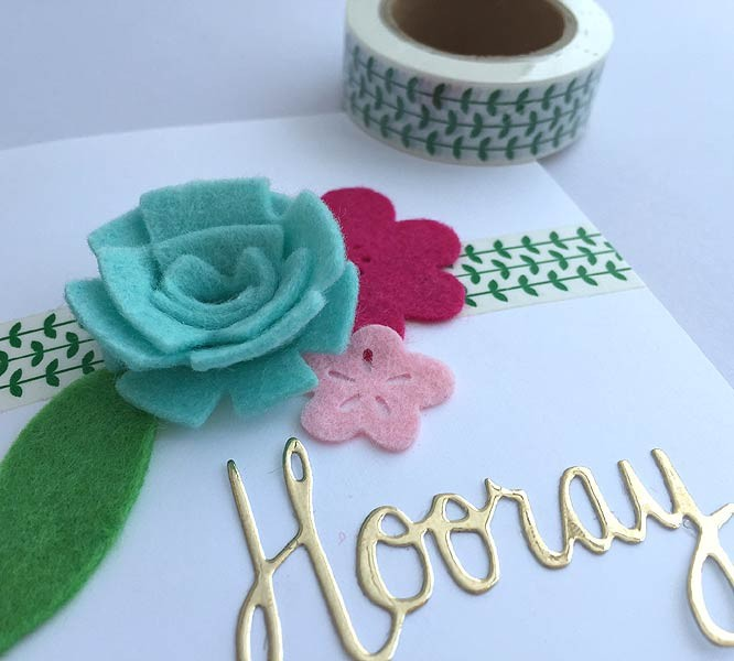 Green Vine Washi Tape