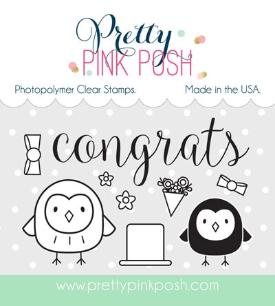 Pretty Pink Posh Happy Owls Stamp Set