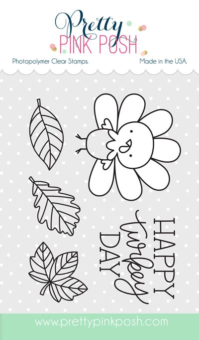 Pretty Pink Posh Happy Turkey Stamp Set