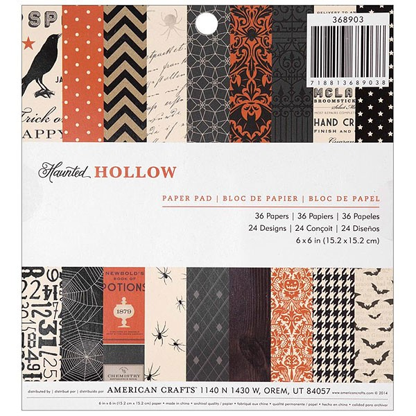 Haunted Hollow 6x6 Paper Pack