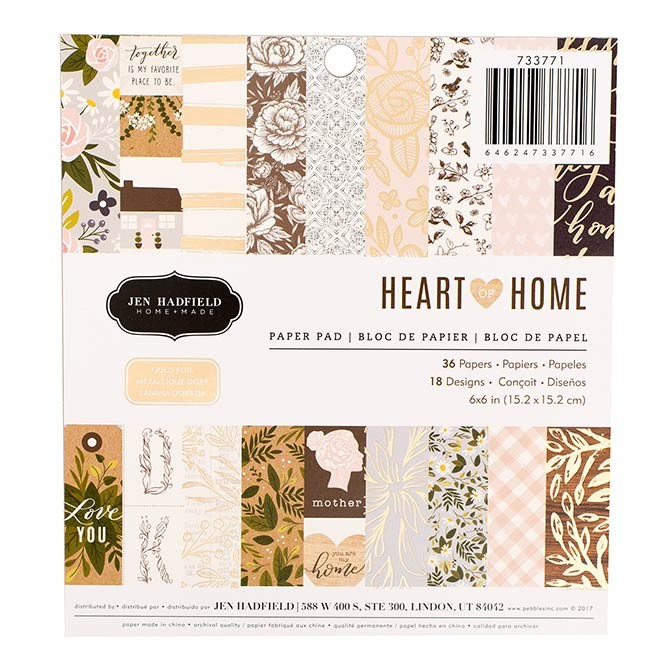 Heart of Home Paper Pack