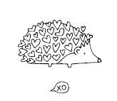 5502E - heart hedgehog combo